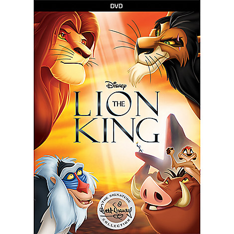 The Lion King DVD - Signature Collection