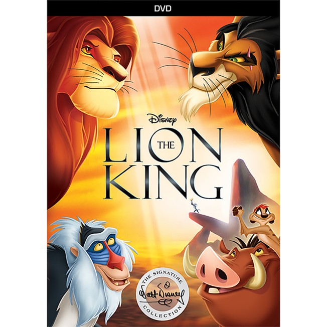 The Lion King DVD – Signature Collection