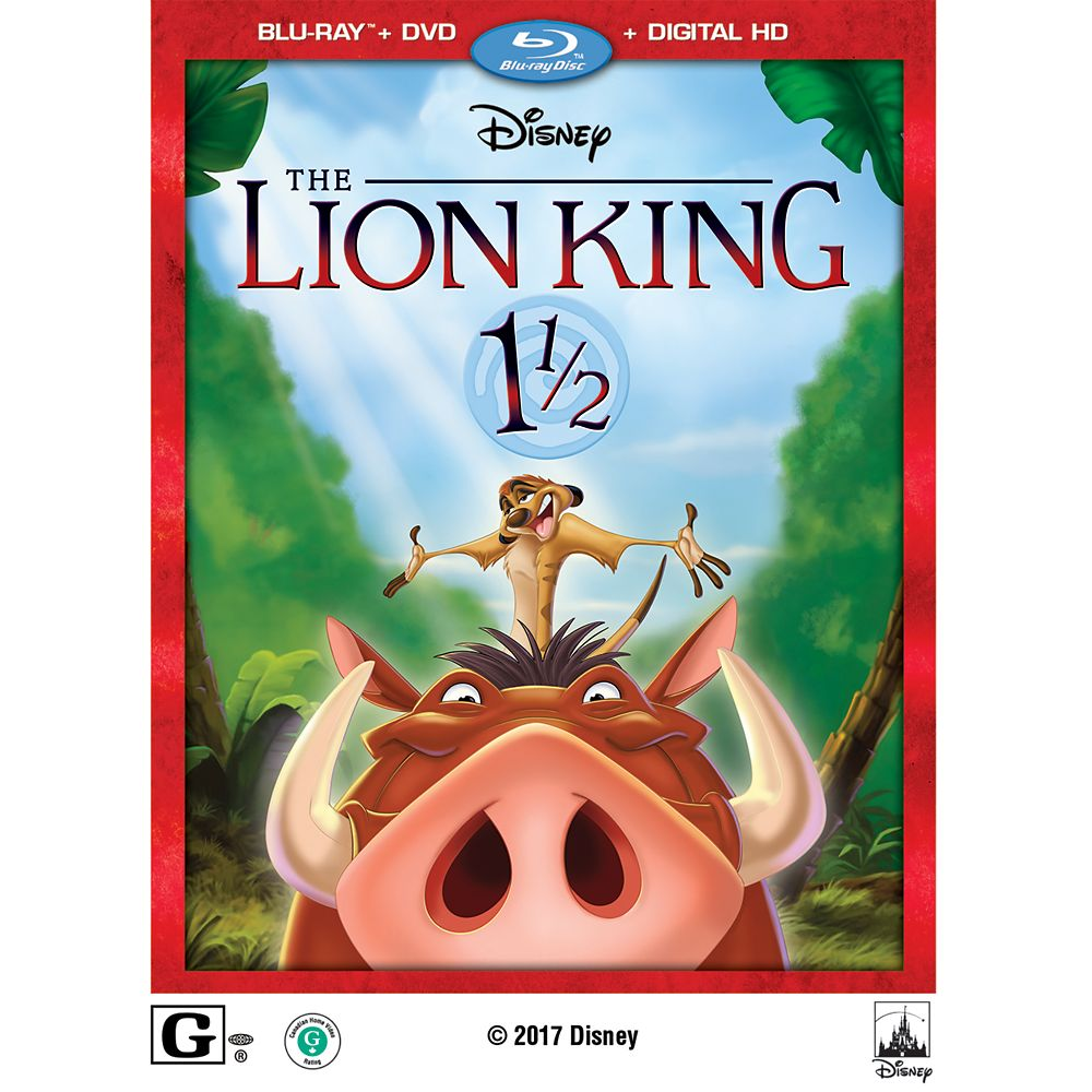 The Lion King 1 1/2 Blu-ray Combo Pack