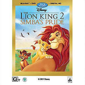 The Lion King II: Simba's Pride Blu-ray Combo Pack 7745055552259P