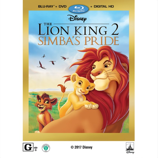The Lion King II: Simba's Pride Blu-ray Combo Pack