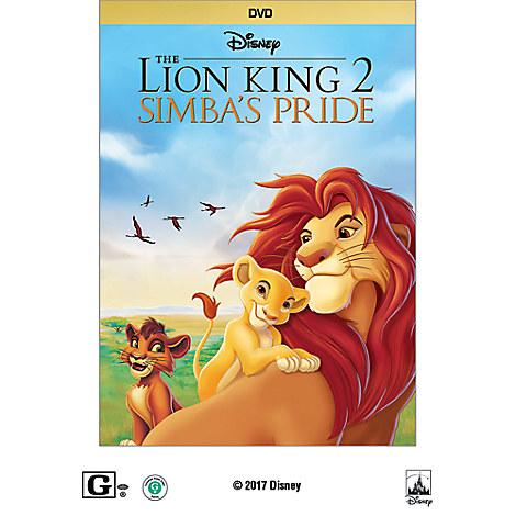 The Lion King II: Simba's Pride DVD