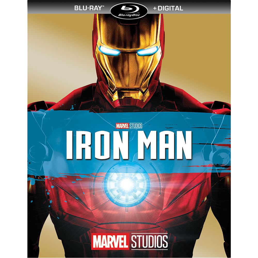 Iron Man Blu-ray + Digital Copy
