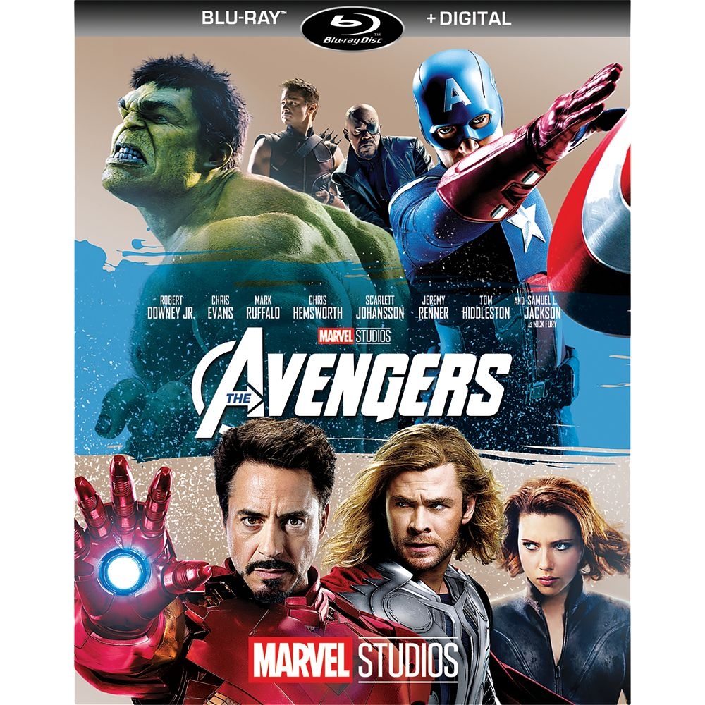 Marvel's The Avengers Blu-ray + Digital Copy Official shopDisney