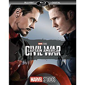 Captain America: Civil War Blu-ray + Digital Copy 7745055552396P