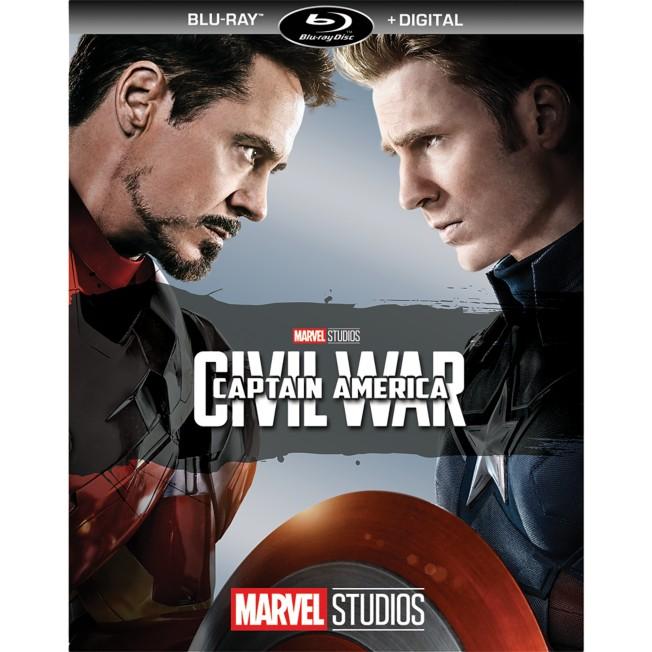 Captain America: Civil War Blu-ray + Digital Copy