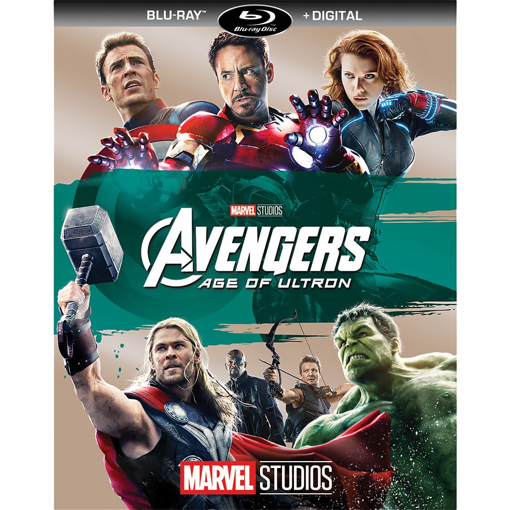 The Avengers: Age of Ulton Blu-ray + Digital Copy