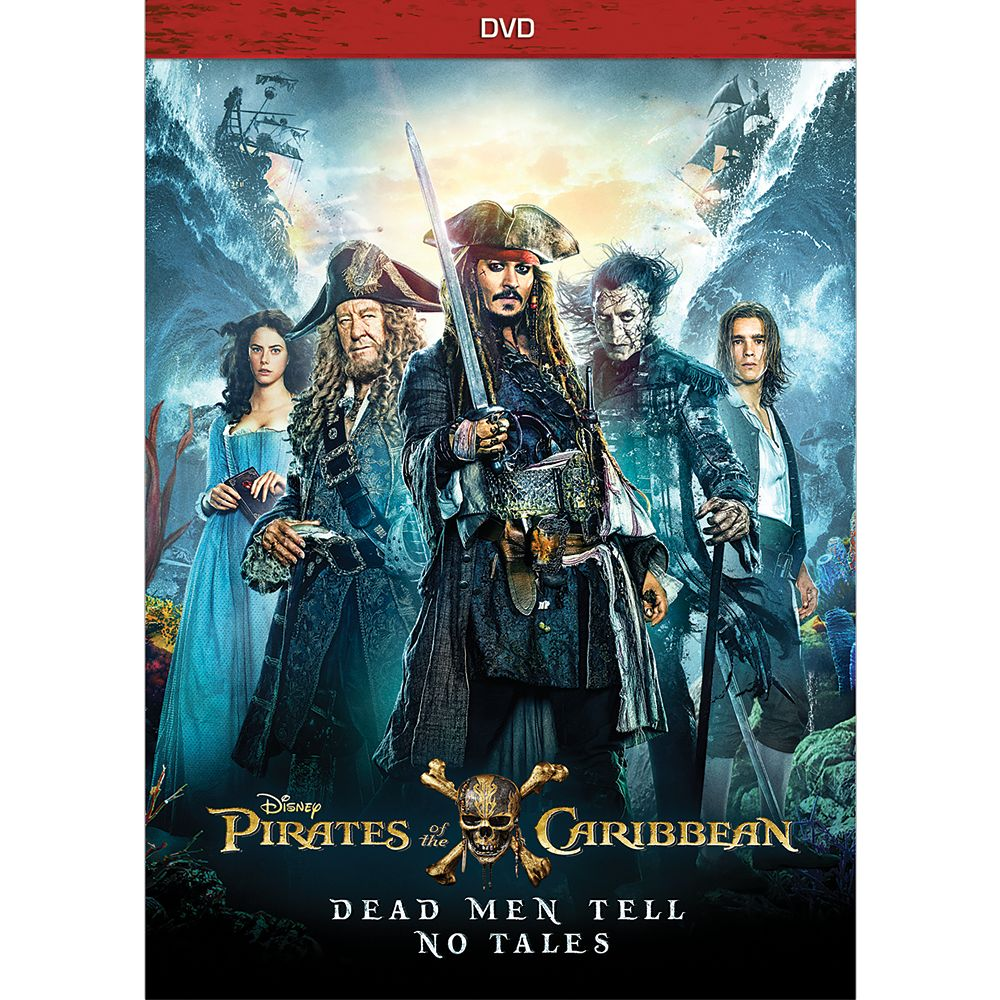 Pirates of the Caribbean: Dead Men Tell No Tales DVD