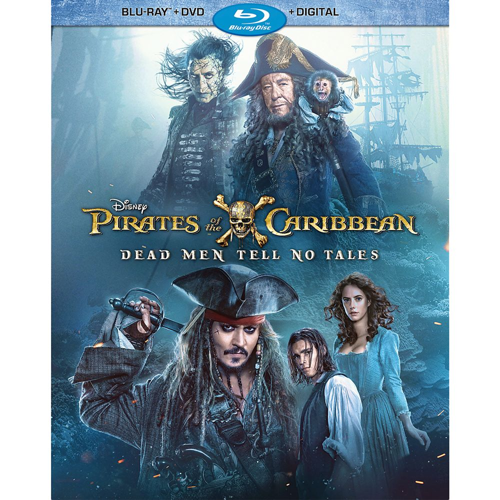 Pirates of the Caribbean: Dead Men Tell No Tales Blu-ray Combo Pack