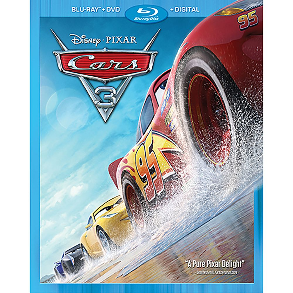 Cars 3 Blu-ray Combo Pack
