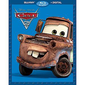Cars 2 Blu-ray + Digital Combo Pack 7745055552587P