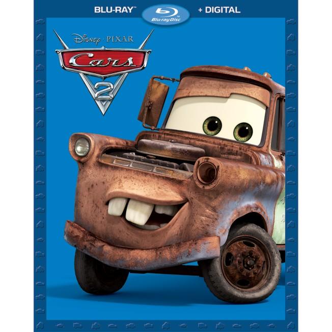 Cars 2 Blu-ray + Digital Combo Pack