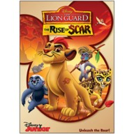 The Lion Guard: Rise of Scar DVD