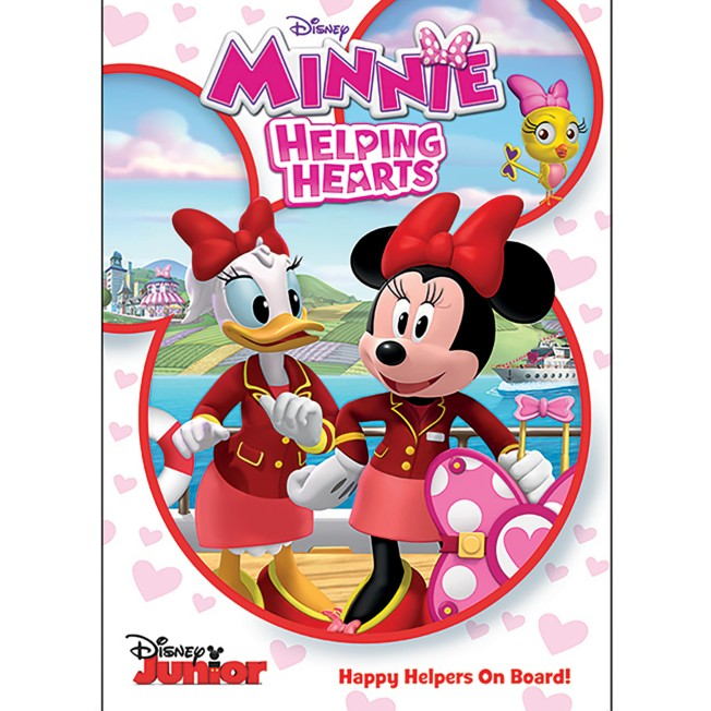 Minnie Mouse Helping Hearts DVD