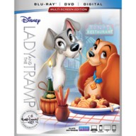 Lady and the Tramp Blu-ray Combo Pack