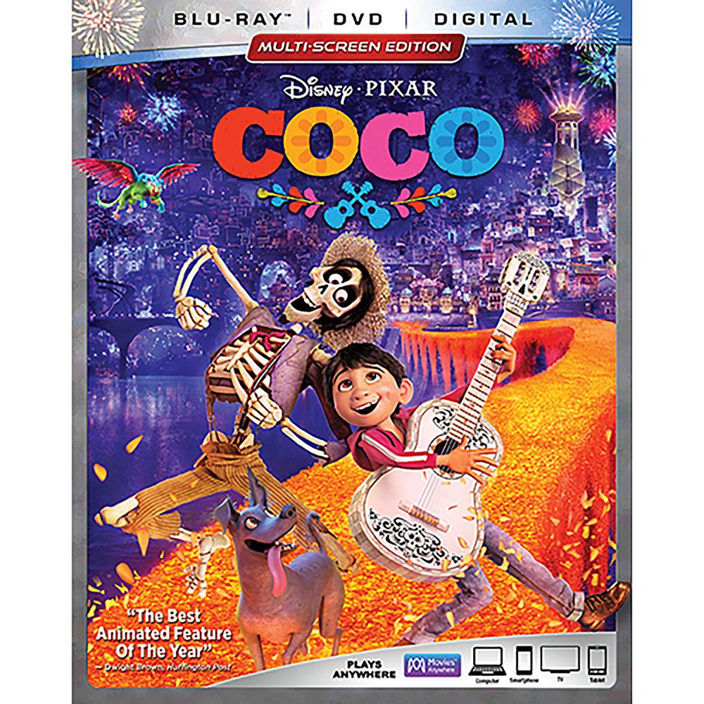 Coco Blu-ray Combo Pack Multi-Screen Edition