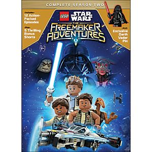 LEGO Star Wars: The Freemaker Adventures Season Two DVD 7745055552636P