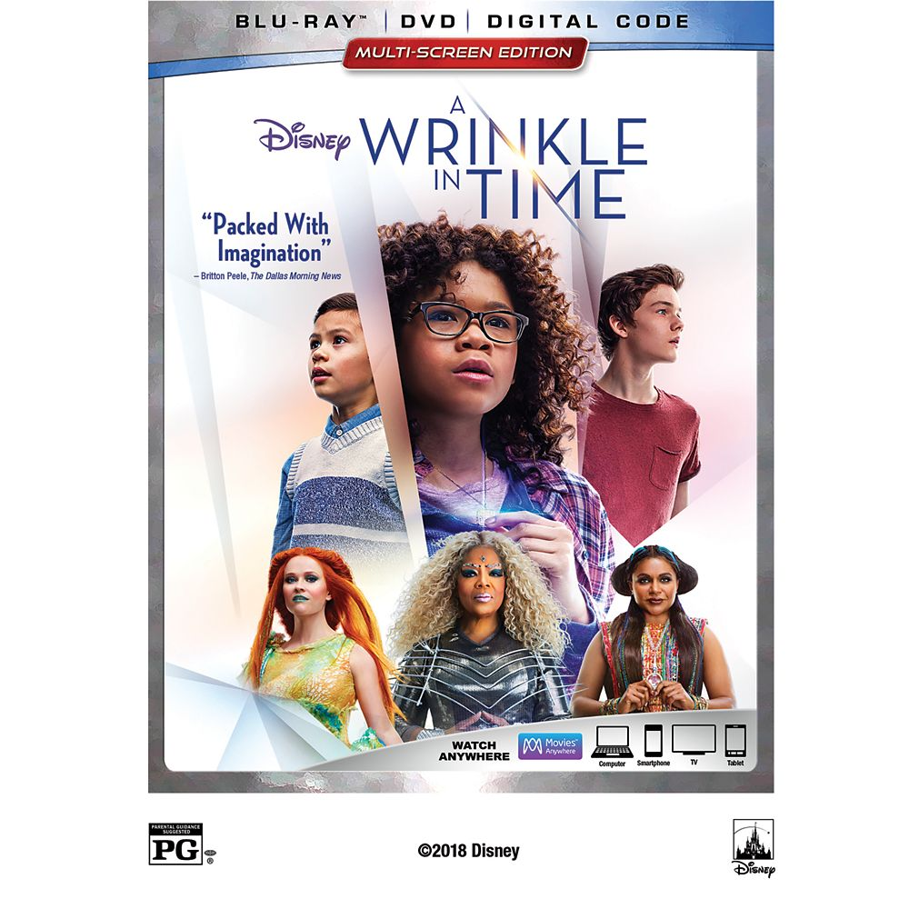 A Wrinkle in Time Blu-ray Combo Pack Multi-Screen Edition