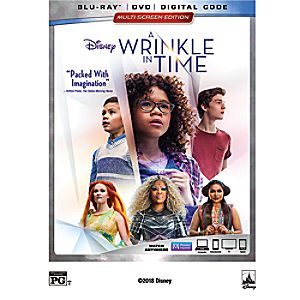A Wrinkle in Time Blu-ray Combo Pack Multi-Screen Edition 7745055552691P