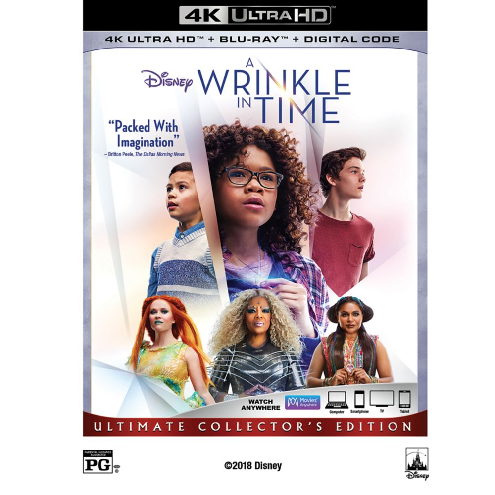 A Wrinkle in Time 4K Ultra HD Official shopDisney