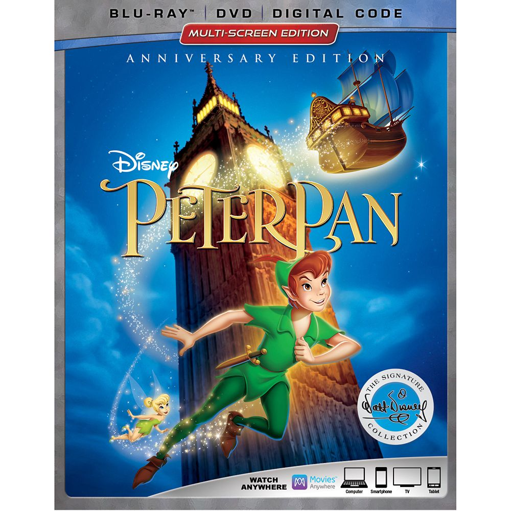 Peter Pan Blu-ray Combo Pack Multi-Screen Edition