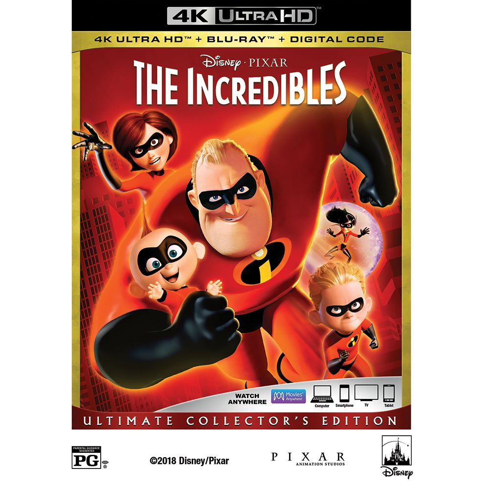 The Incredibles 4K Ultra HD
