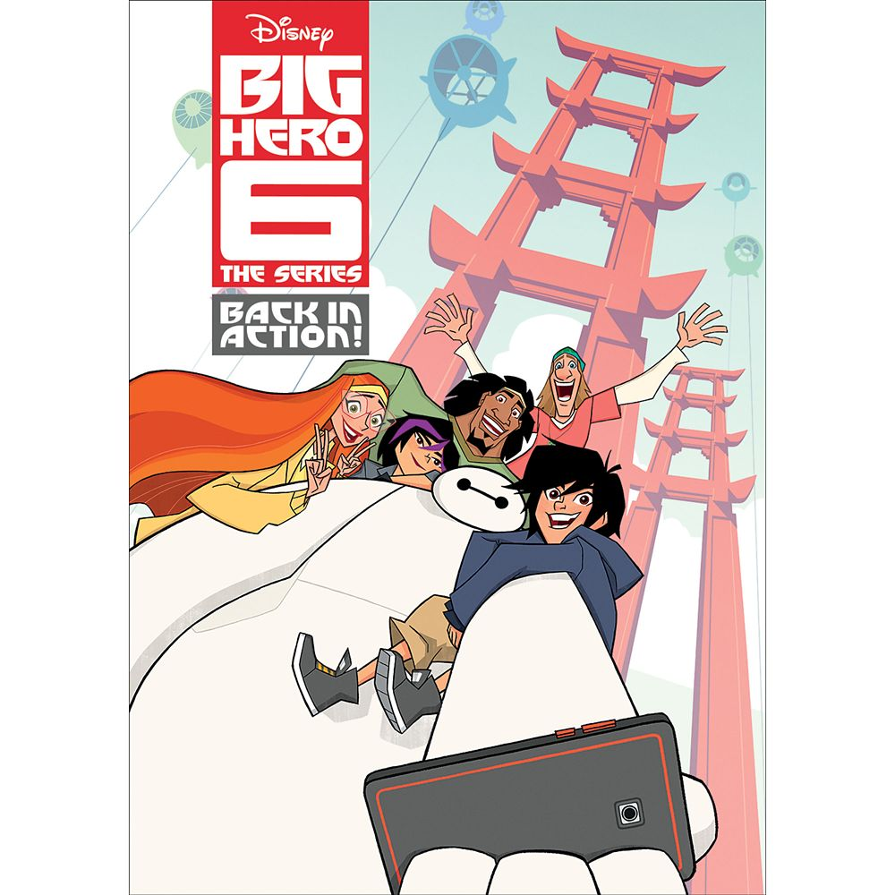 Big Hero 6: The Series  Back in Action! DVD Official shopDisney
