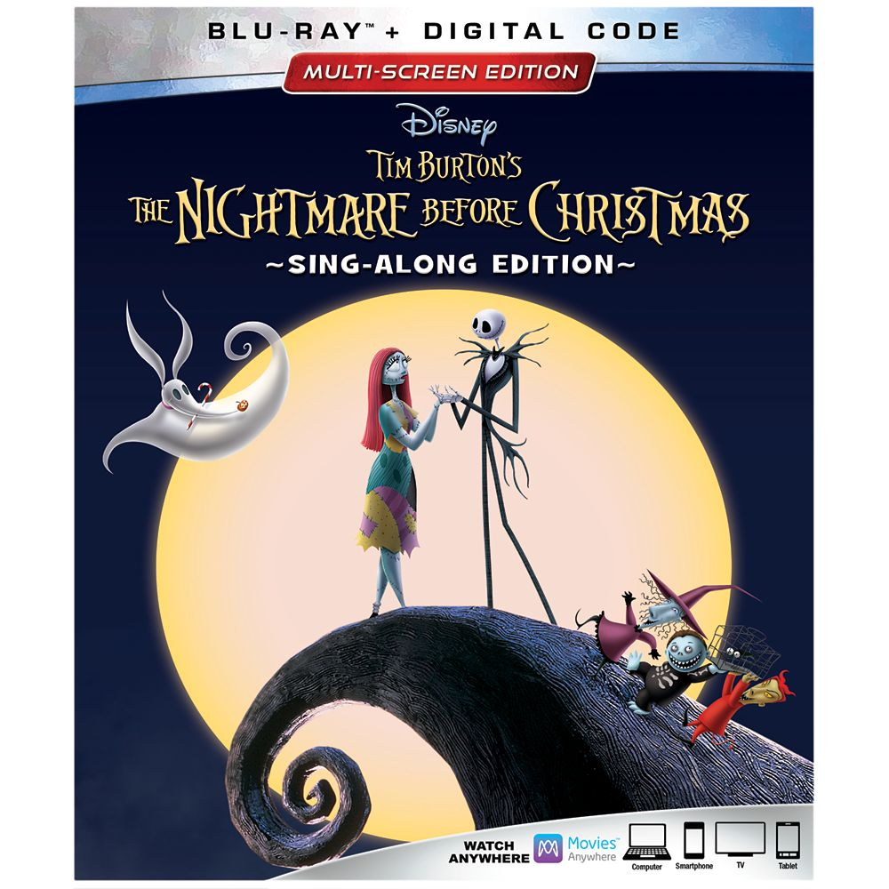 Tim Burton's The Nightmare Before Christmas 25th Anniversary Blu-ray Combo Pack Multi-Screen Edition Official shopDisney