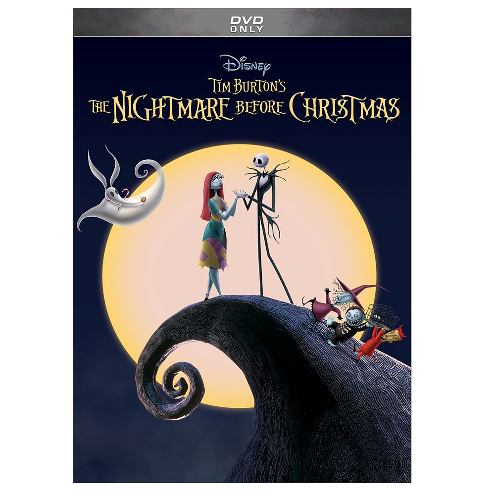 Tim Burton Nightmare Before Christmas Artwork.Tim Burton S The Nightmare Before Christmas Dvd