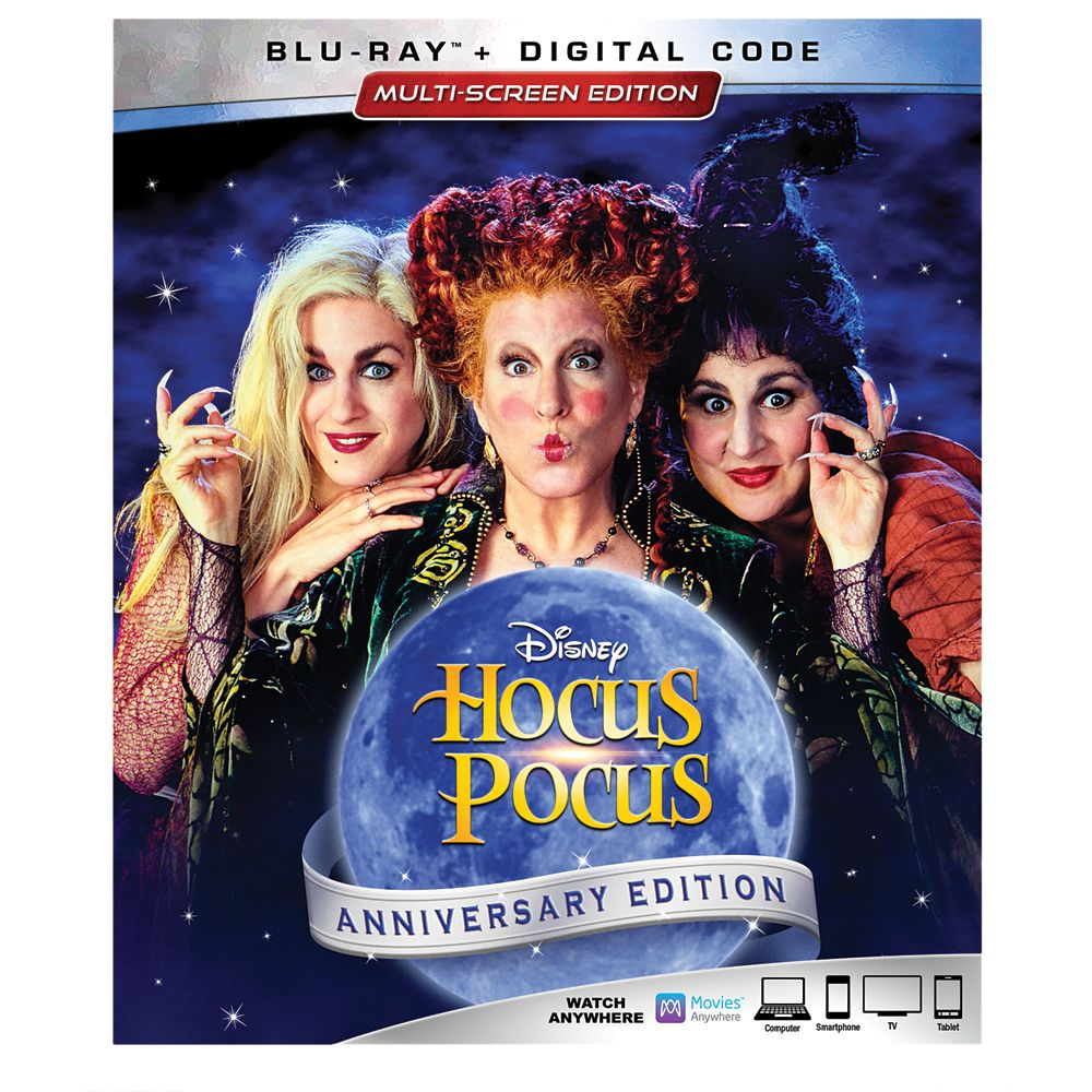 Hocus Pocus 25th Anniversary Blu-ray Combo Pack Multi-Screen Edition