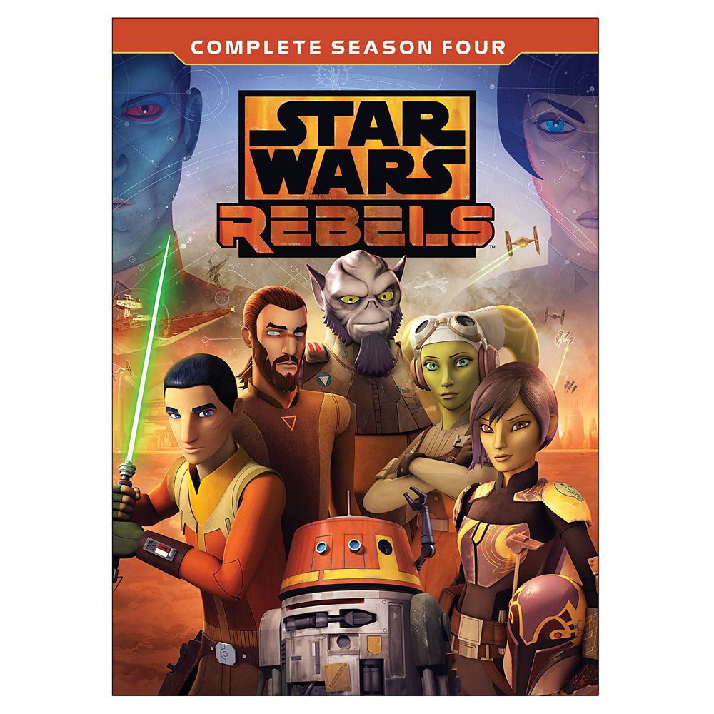 Star Wars Rebels Complete Season Four DVD