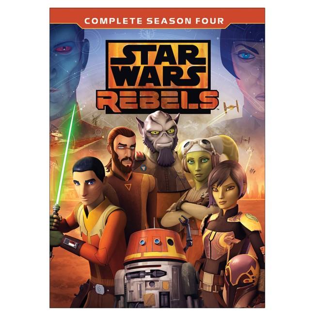 Star Wars Rebels Complete Season Four DVD