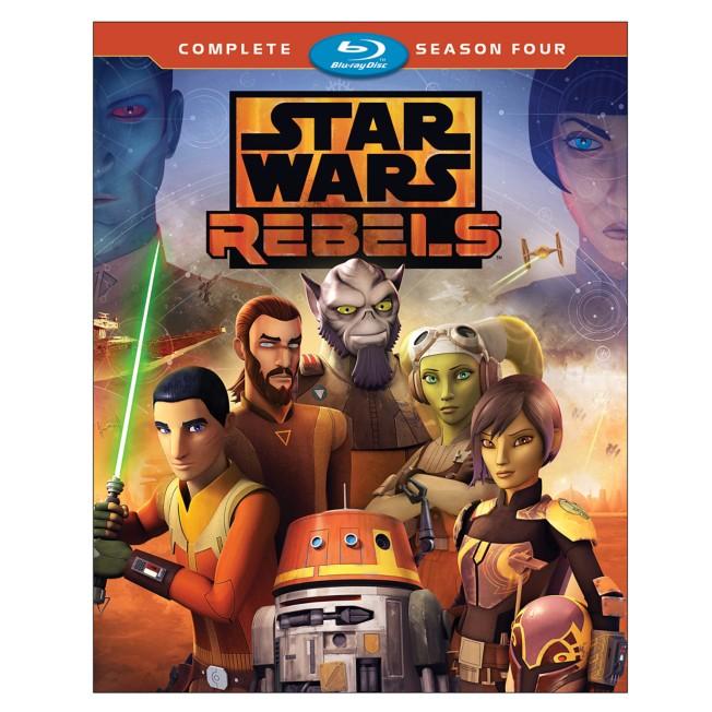 Star Wars Rebels Complete Season Four Blu-ray