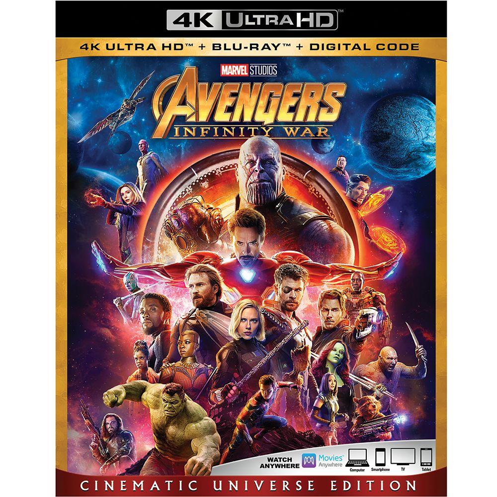 Marvel's Avengers: Infinity War 4K Ultra HD Official shopDisney
