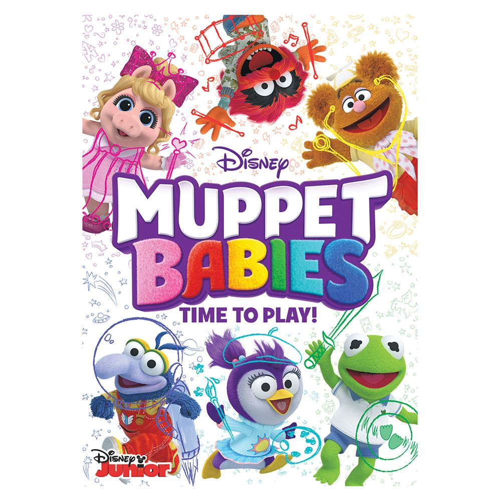 Muppet Babies The Series: Time to Play! DVD
