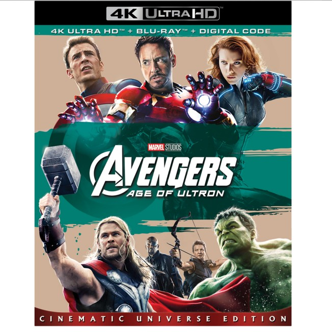 Marvel's Avengers: Age of Ultron 4K Ultra HD