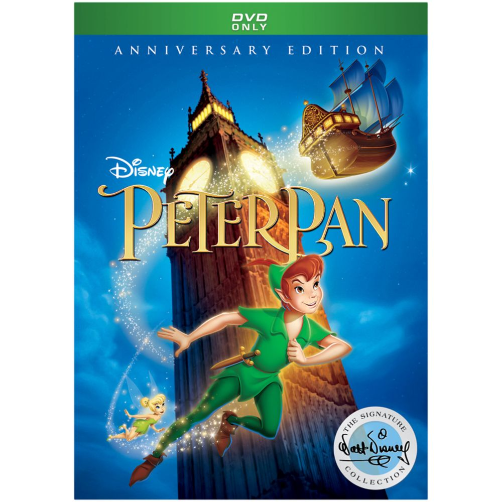 Peter Pan Anniversary Edition DVD – Signature Collection