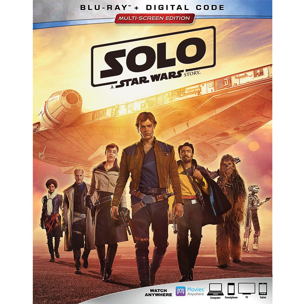 Solo: A Star Wars Story Blu-ray Combo Pack Multi-Screen Edition