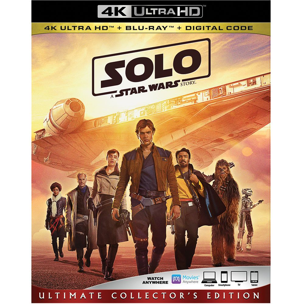 Solo: A Star Wars Story Blu-ray 4K Ultra HD Official shopDisney