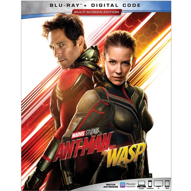 Ant-Man and The Wasp Blu-ray Combo Pack Multi-Screen Edition