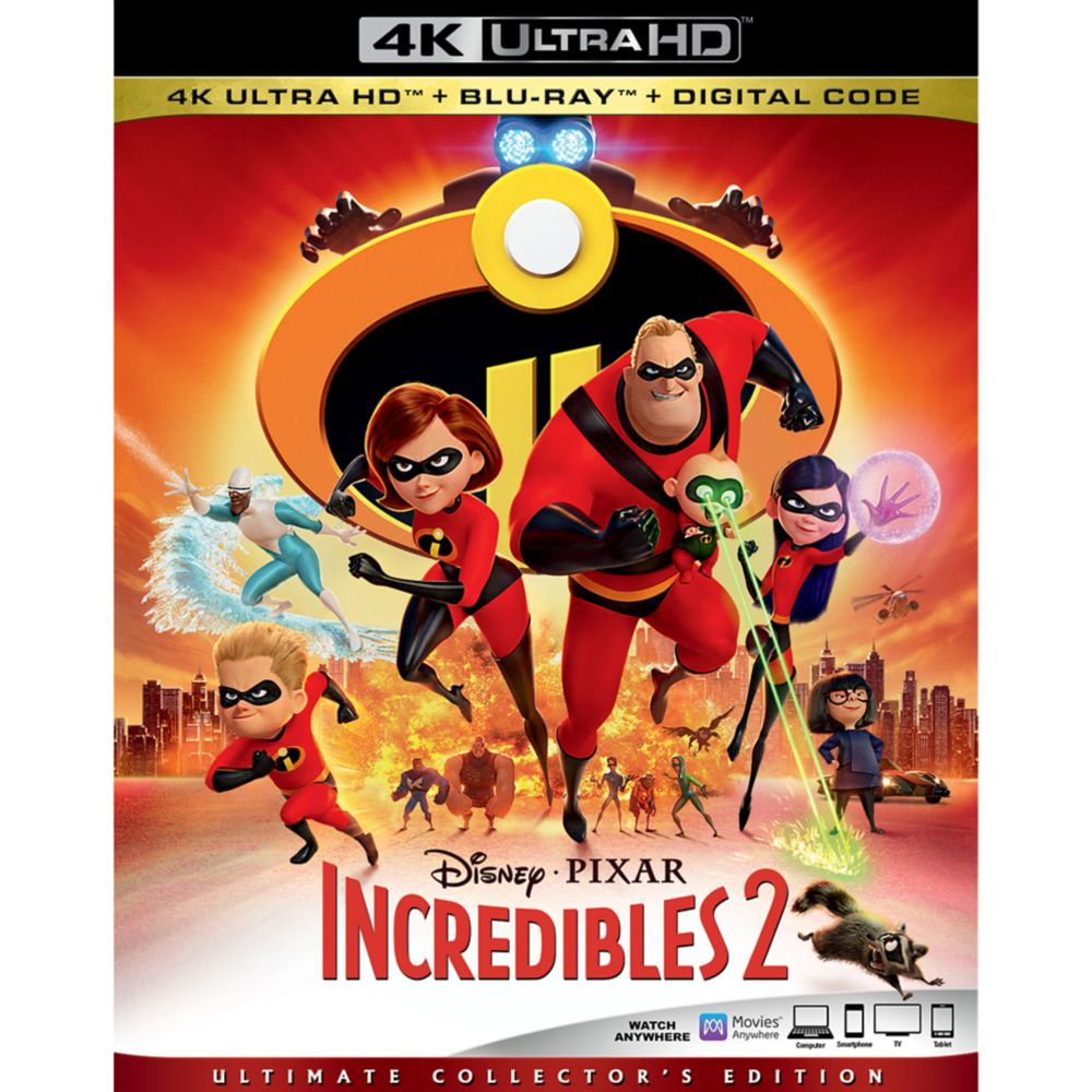 Incredibles 2 4K Ultra HD
