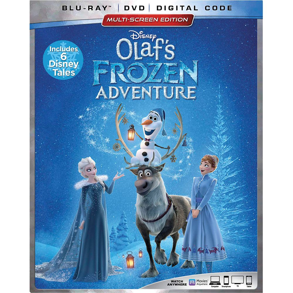 Olaf's Frozen Adventure Blu-ray Combo Pack Multi-Screen Edition