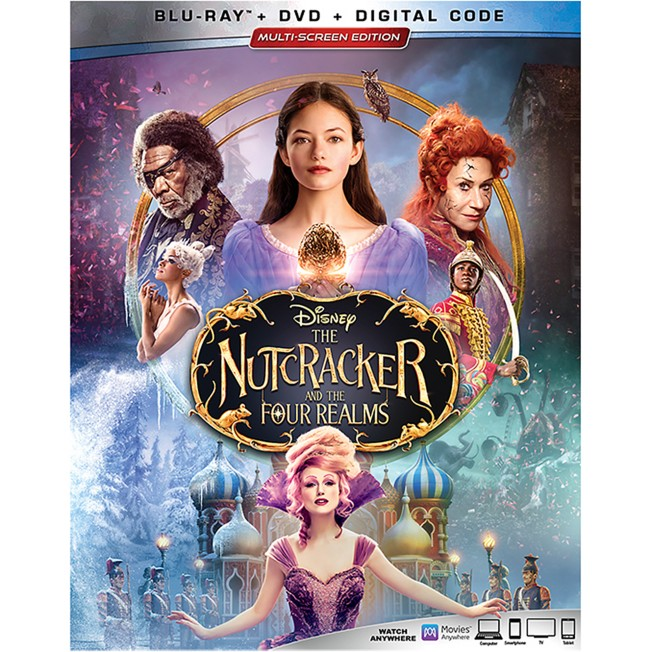 The Nutcracker and the Four Realms Blu-ray Combo Pack Multi-Screen Edition