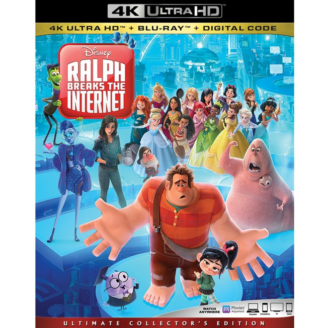 Ralph Breaks the Internet 4K Ultra HD