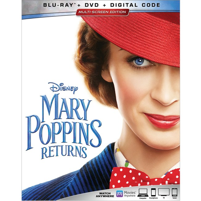 Mary Poppins Returns Blu-ray Combo Pack