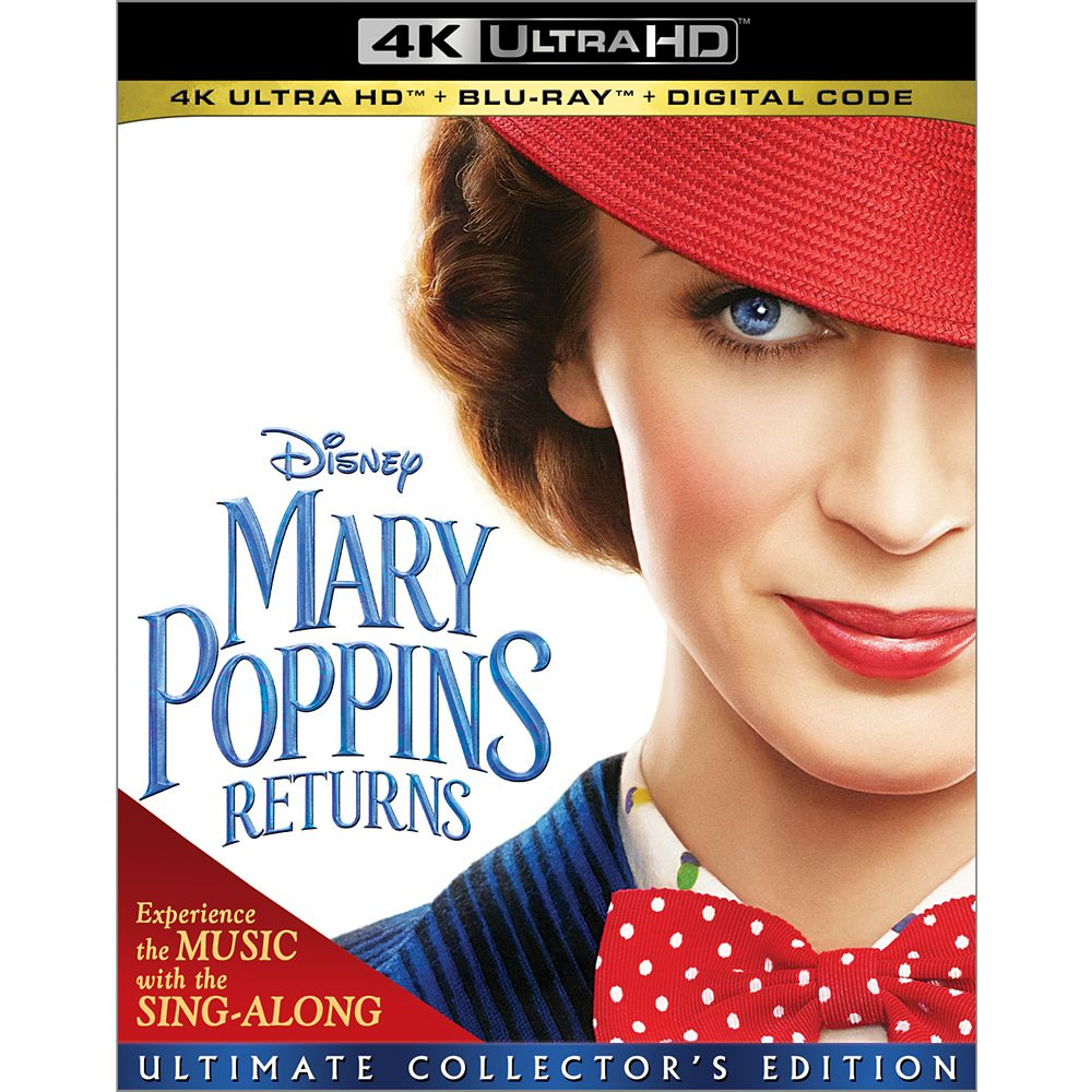 Mary Poppins Returns 4K Ultra HD