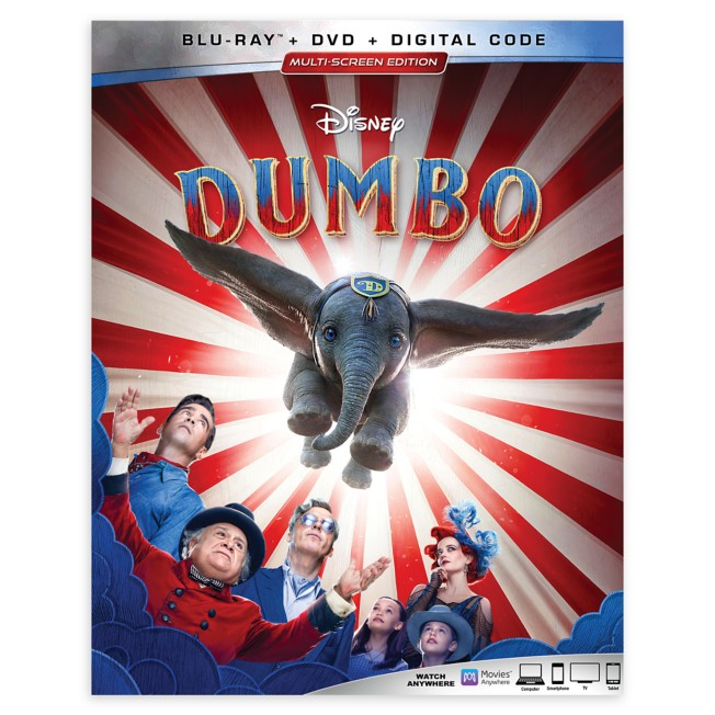 Dumbo Blu-ray Combo Pack Multi-Screen Edition – Live Action Film