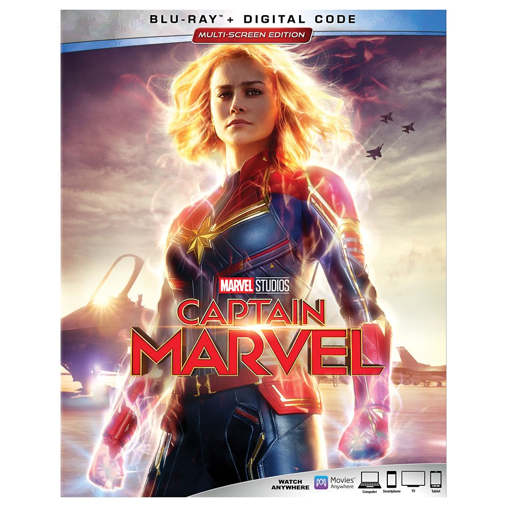 Marvel's Captain Marvel Blu-ray + Digital Code