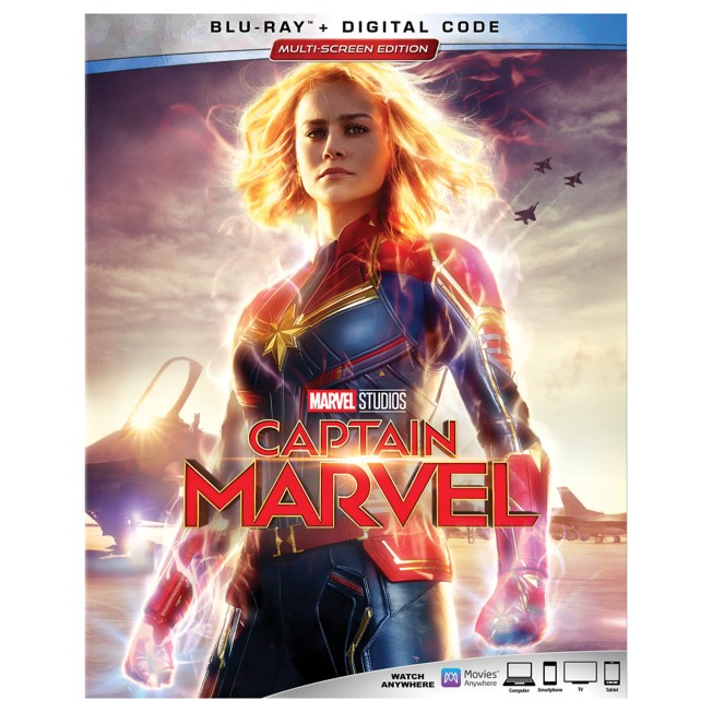 Marvel's Captain Marvel Blu-ray + Digital Code