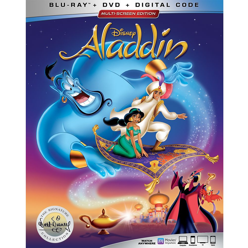Aladdin Blu-ray Combo Pack – Signature Collection